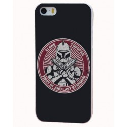 """Kryt pro Apple iPhone 6 / 6S - Clone Trooper """"First in and last standing"""""""