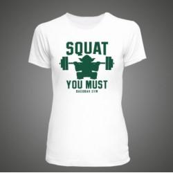Dámské triko Squat You Must - M