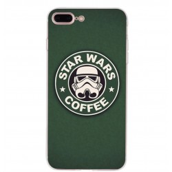 Kryt pro Apple iPhone 8+ Star Wars Coffee
