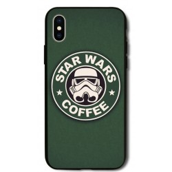 Kryt pro Apple iPhone X Star Wars Coffee